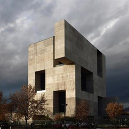 Monolithic concrete box trumps Sydney's living façade at London Design Museum Awards