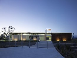 Hinze Dam visitor centre completed on Gold Coast: designed by AECOM and Malcolm Middleton Architects