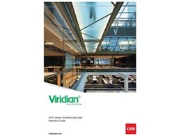 2015 Viridian Architectural Glass Selection Guide released