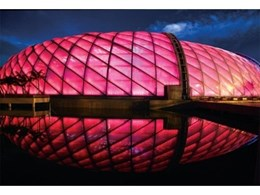 3-layer ETFE cushions used to build complex dome at Shenzhen theme park