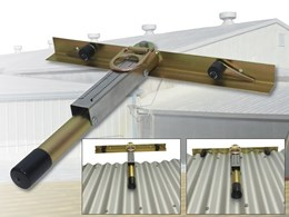 Upgraded portable roof anchor from 3M compliant with AS/NZS 5532