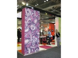 ABET Laminati wins DesignEX 2010 best stand award for 'Digitalia' high pressure laminate display