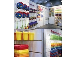 ASI create Tupperware exhibition display stand