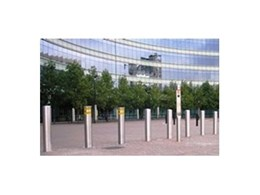 ATG Access high security bollards available from Leda Security Products