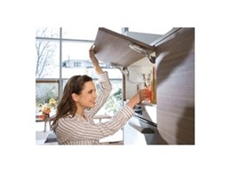 AVENTOS HK-S lift systems for small overhead cabinets available from Blum Australia