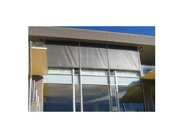 Aberdeen tensioned vertical screens from Aalta Screen Systems