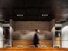 Acoustic ceiling products fulfil criteria for award winning workplace