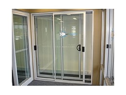 Acoustic glazed sliding doors from Sound Barrier Systems