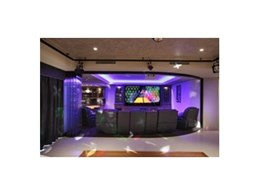 Acoustically transparent projection screens from Herma Technologies