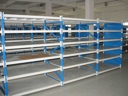 Actisafe's medium duty shelving for industrial, auto and maintenance workshops