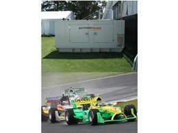 Active Air Rentals' generators for A1 Car Racing Series