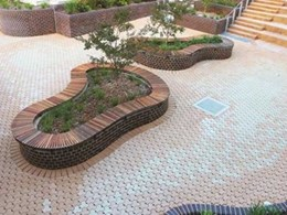 Adbri pavers add the right finishing touch to pavement at Brigidine College campus