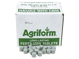 Agriform fertiliser tablets from Arborgreen Landscape Products