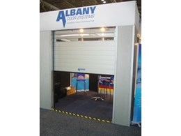 Albany's RapidRoll 3000 Series automatic rolling doors