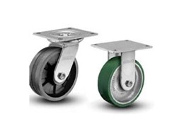 Albion heavy duty castor wheels available from Fallshaw Wheels and Castors