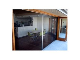 Alfresco pleated fly screens available from Artilux Australia