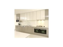 AliFrost aluminium frame kitchen doors available from Mitchell Plastics