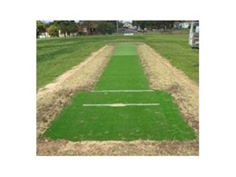 All weather artificial turf cricket wickets available from Synthetic Grass & Rubber Surfaces