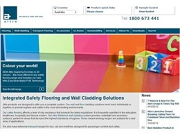 Altro Safety Flooring launched new customer-focused website