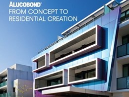 Alucobond aluminium composite material for striking home facades