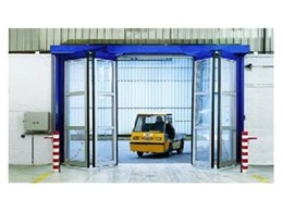Aluminium High Speed Folding doors from DMF International