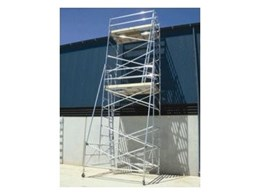Aluminium mobile towers, trestles and planks from Western Scaffold