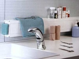 Galvin Conti electronic hands free tapware for commercial washrooms
