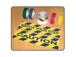 Anti-slip photoluminescent and checker plate tape from Floorsafe International