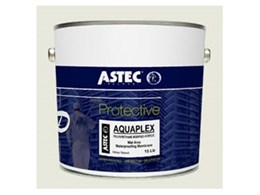 Aquaplex waterproofing membranes now offered by Astec Paints Melbourne