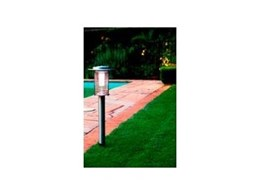 Architectural solar garden lights available from Solergy Australia