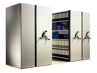Archive Hand Crank Shelving From Spacepac Industries