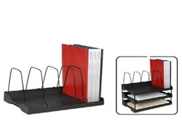 Arnos Australia quality office products Eco-Tidy Adjustable Book Rack