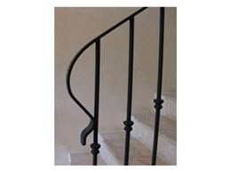 Art of Stone offer wrought iron balustrades