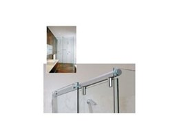 At last! Frameless sliding shower doors