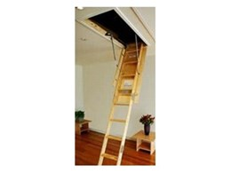 Attic Master folding ladders from Attic Ladders