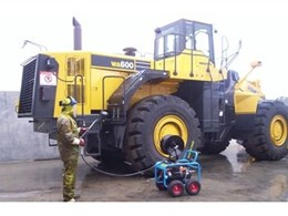 Aussie Monsoon heavy duty pressure cleaner from Australian Pump Industries