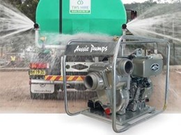 Aussie Pump introduces new range of high capacity Kubota pumps