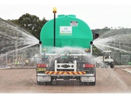 "Aussie QP 4"" High Pressure Pumps Deliver High Performance for Water Carts in Drenching Operations"