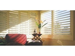 Australian-made open shutters available from Open Shutters