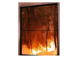 BAL 40 double hung bushfire windows available from Aneeta Windows