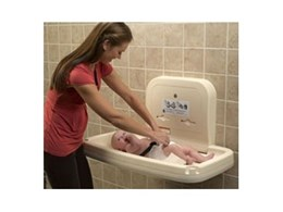 Baby change stations available from RBA Group