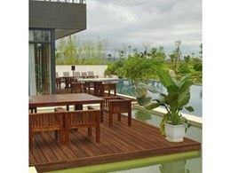 Bamboo decking from House of Bamboo