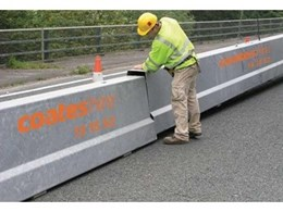 BarrierGuard 800 steel barriers from Coates Hire