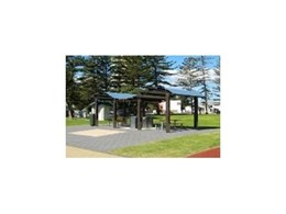 Beachfront wave shelters available from Landmark Products