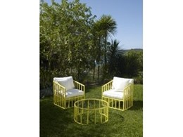 Bella arm chairs from Robert Plumb