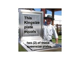 Big BBQ plate available from Moodie Outdoor Products