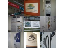 Blueprint Concepts install signage for nursing home