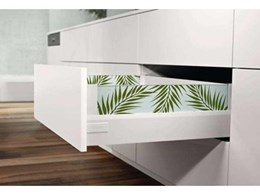 Blum Australia's TANDEMBOX intivo Design configurator for more kitchen pull-out possibilities