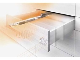 Blum introduces MOVENTO, the new concealed runner system