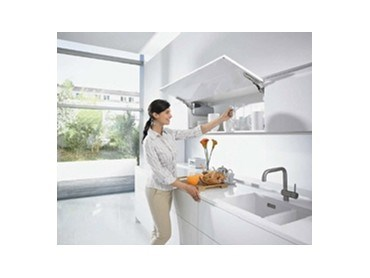 Blum S Tip On For Aventos Hk Brings Perfect Motion To Wall